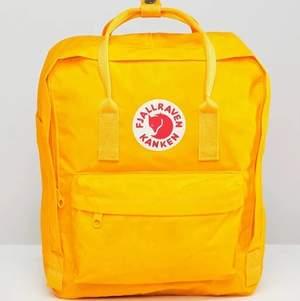 Säljer min gula fjällräven ryggsäck 🌞🌞