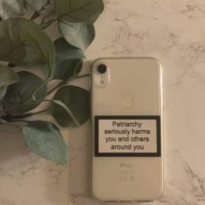 Snyggt skal som passar till iPhone XR!