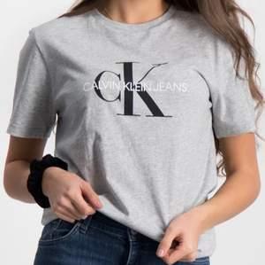 Grå T-shirt från Calvin Klein i strl S, aldrig använd