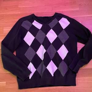 så cool argyle tröja:)
