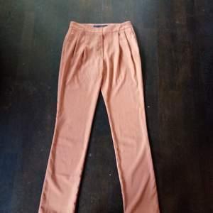 Snygga byxor från Zara, brun/beige