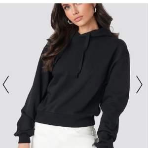 Svart hoodie från Nakd, storlek S💕