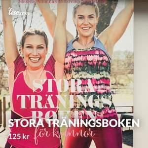 Stora träningsboken för kvinnor. Boken är rolig och i bra skick👍 Perfekt att ge bort i julklapp   #träningsboken