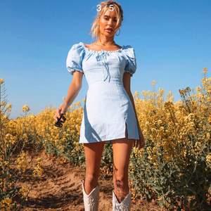 Fin helt oanvänd klänning från SHEIN i storlek M. Säljes pga lite för kort för mig