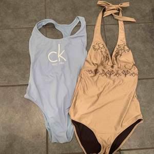 Oanvända bikini i märke Calvin Klein och odd Molly. Calvin Klein - sold Odd Molly - storlek 1(motsvarande S)