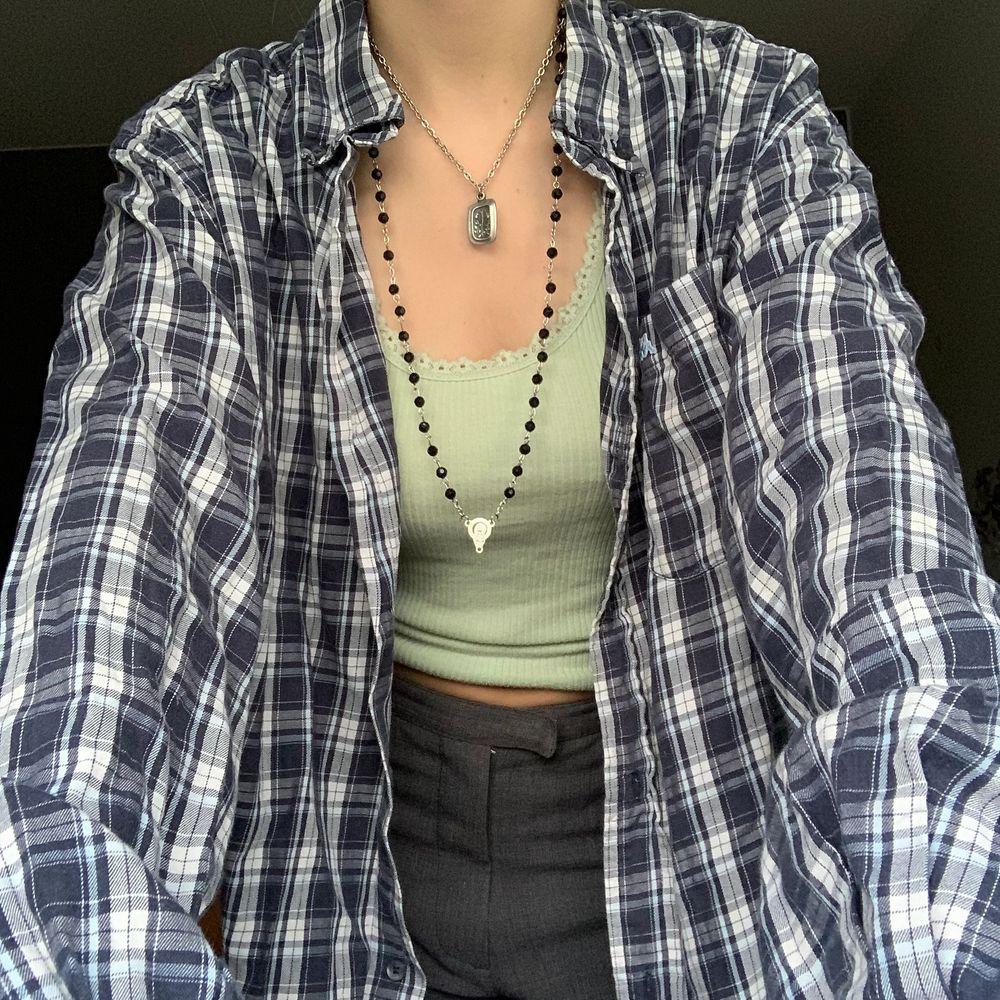 superhärlig blå flanellskjorta!. Skjortor.