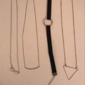 halsband från olika ställen