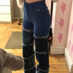 Intresse koll på dessa sjuka jeans, kommer eventuellt sälja dem (Buda eller skriv gärna vad ni skulle kunna köpa dem för)