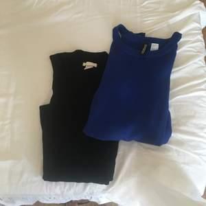 Två tröjor öppna vi axeln, trendiga. Aldrig använda. Båda för 100kr.