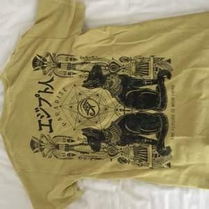 super snygg t-shirt från UrbanOutfitters! köpt för 499kr, super snygg färg och tryck🤩 använd fåtal gånger så den är i mycket fint skick eftersom den är från killavdelningen , lite oversized men sitter så snyggt!
