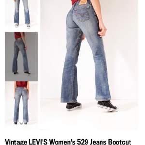 Säljer två styckna jeans i modellen 529 (De ljusblåa är sålda) då jag tyvärr vuxit ur de, skriv t mig för mer bilder! Säljer för 250kr + frakt! (Per byxa) 💕