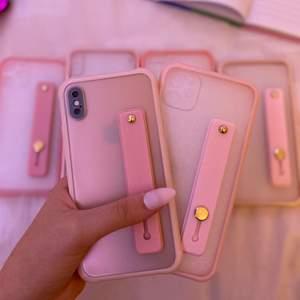 iPhoneskal i rosa och lila💜 Tillgängliga för 11 PRO, 11, XR, XS MAX, XS och 8 PLUS