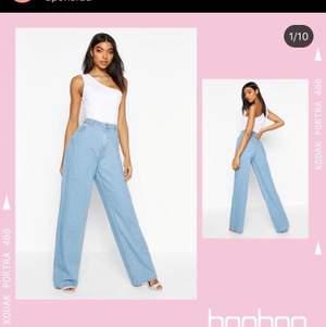 Raka jeans från boohoo i strl 36, säljs pga för stora helt nya och ej använda endast testade