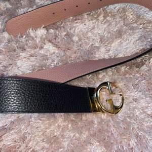 Gucci bälte köpt i milano, kvitto och dustbag finns