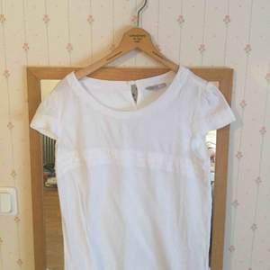 En fin vit blouse