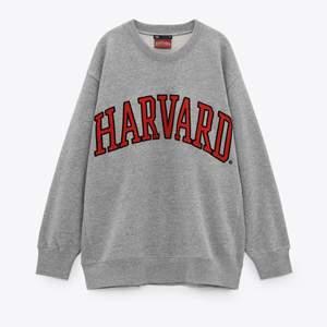 En jättefin oanvänd Harvard sweatshirt ifrån Zara. Den är oversized och passar till nästan vad som!🤍