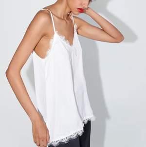 Snygg nattlinneinsperad linne/topp, helt oanvänt med prislapp ❤️