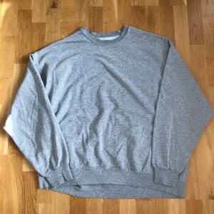 Säljer en vintage blank sweatshirt perfekt för våren och sommaren! Storleken passar en XL-XXL beroende på önskad passform. Bra vintage cond! Skicka ett meddelande för ytterligare info om jackan till @corporativehundred!