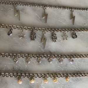 Kedjehalsband! 1 halsband för 99kr eller två för 149kr! + 12kr frakt! (Ingår vid köp av två smycken eller mer)💞