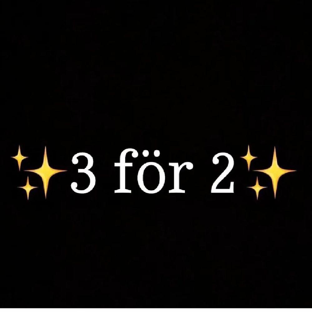 Kör 3 för 2!!! Välj 2 plagg och få tredje gratis😍. Jeans & Byxor.