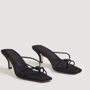 Ombloggade och slutsålda sandaletter från Mango Comitted. Använda 1 gång. Storlek 38
