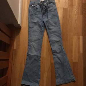 Ginas bootcut jeans. Märkt M men mer som S. Inköpta hösten 2020. 100 kr + frakt