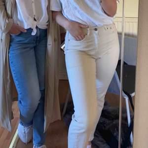 ❗️Passar s❗️då jag själv är en S!  Beiga jeans ifrån NAKD x TINA MARIA, super fina men används inte, frakt tillkommer 💕💛