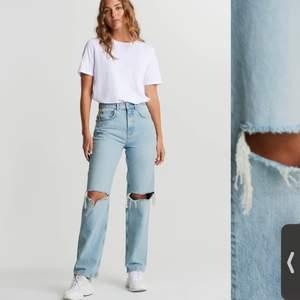 Säljer mina gina jeans i super fint skick då jag känner att dom inte kommer till så mycket användning längre❤️ De är i bra skick!