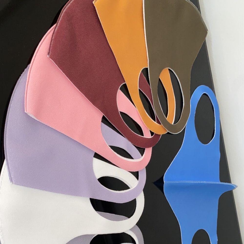 Tyg masker i flera olika färger! Glöm inte att stay safe 😷 50kr/styck 2 för 85kr. Accessoarer.