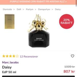 Säljer min parfym. 80% kvar
