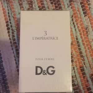 D&G Perfym och oanvänd