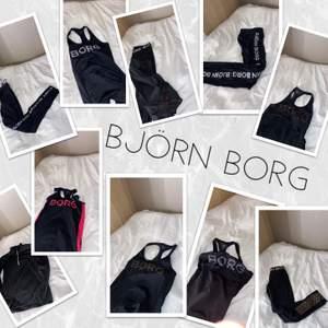 Jag har asmycke träningskläder från Björn Borg som jag vill bli av med, kom privat för specifika bilder, skick eller storlekar om du är intresserad!!💕
