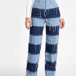 Randiga vida jeans från Shein, helt oanvända Kan ta egna bilder efter intresse
