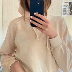 Beige tiedye hoodie från Bikbok. 50kr + frakt ☺️