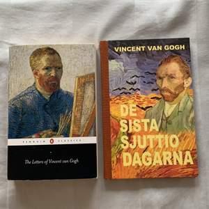 Säljer två böcker om Vincent van Gogh, ena handlar om alla hans brev (ca 500 sidor, på engelska) och ena handlar om hans sista dagar (78 sidor, på svenska). Säljer första för 40kr och andra för 30kr ☺️