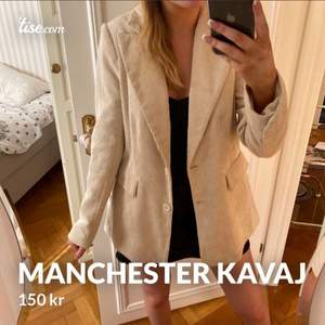 Manchester kavaj / blazer från Gina tricot, stl 38,
