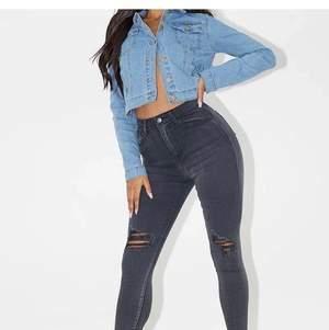 Så snygga högmidjade jeans från PLT! Storlek XS