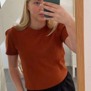 Säljer denna bruna tröjan från Bershka i stl S💕