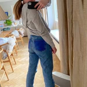 Så snygga zara jeans med mörkare fickor. Så trendiga!! 💕