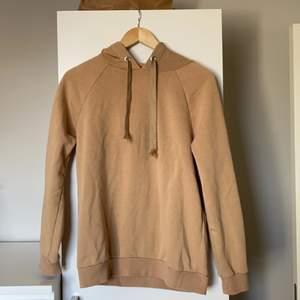 Superfin beige hoodie från Gina Tricot. Storlek S💕