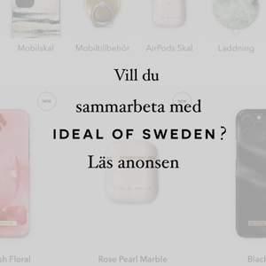 Jag kan nu bjuda in personer till att sammarbeta med ideal of sweden man har möjligjet till gratis produkter samt presentkort till detas sida! Det enda kravet är att man har minst 800 följare på Instagram! Kontakta mig så får du länk till att bli ambassadör (kostnadsfritt såklart)🥰😍🔥