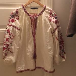 Embroidery Etnic style from Zara