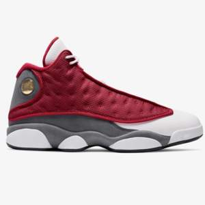 "Jordan 13 retro ""red flint"", storlek 43. Pris 2500. Helt nya (ds)"