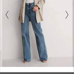 Så så fina jeans från Mango köpta på NA-KD, verkligen perfekta i färgen men tyvärr för små