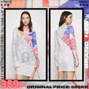 BRAND NEW! ✨ Info: JADED LONDON Cut Sew Long Sleeve Dress, Women. Size/Storlek: 34 & 36                                       Instagram: @StyleBoss.se ✨