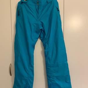 Säljer en blå skidbyxor från Decathlon. Köptes i år och används en gång pga fel storlek för mig. Storlek L-XL.