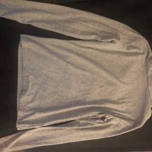 Polo tröja, st S, ljusgrå :))