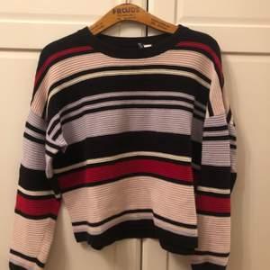 Superfin tröja från Hm med färgade ränder. Så skön och har hållt i kvalite väldigt bra!