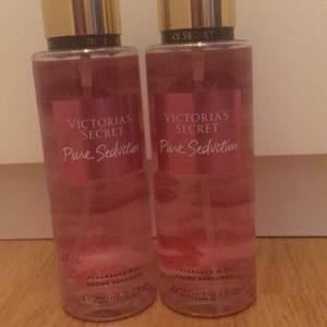 Säljer mina Viktoria Secret parfymer! Helt oanvända köp ena för 250kr eller båda för 500kr. I samma doft.