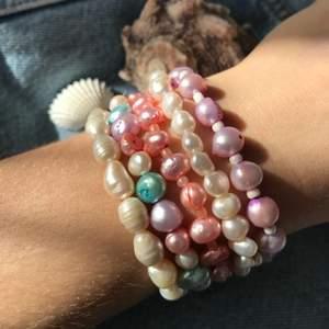 handgjorda armband 🦋 59kr styck.